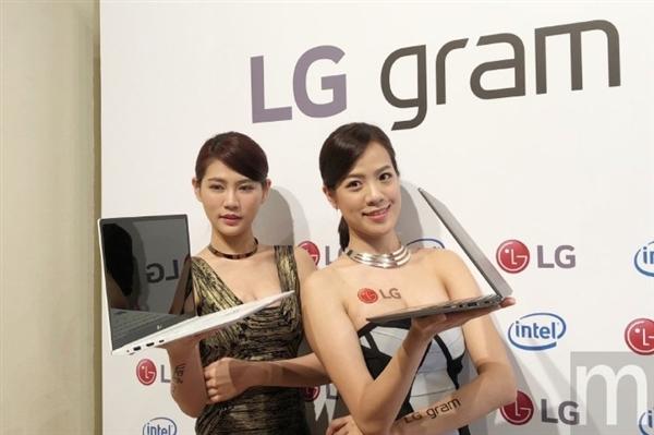 LG gram轻薄笔记本首次登陆台湾:14寸9110元起