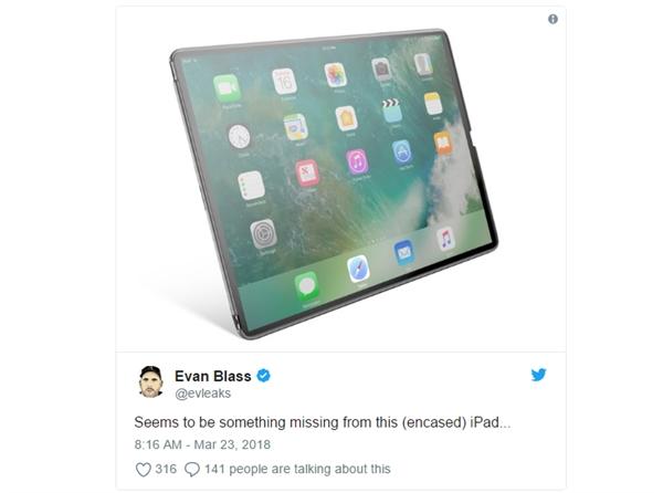 这是新iPad Pro?外形让苹果都捏把汗