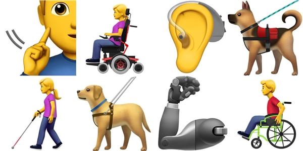残障人士专用Emoji可能要来了