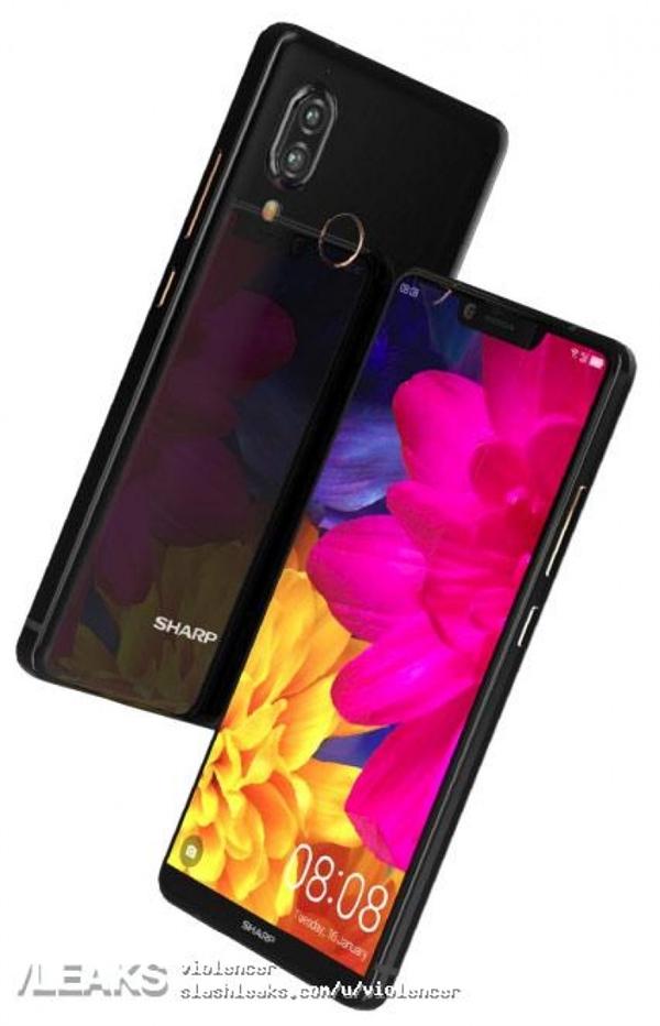 91%屏占比!最小6寸手机夏普S3定妆照曝光:点亮惊艳