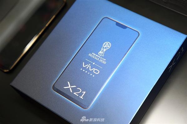 vivo X21屏幕指纹版图赏:黑金配色颜值赞