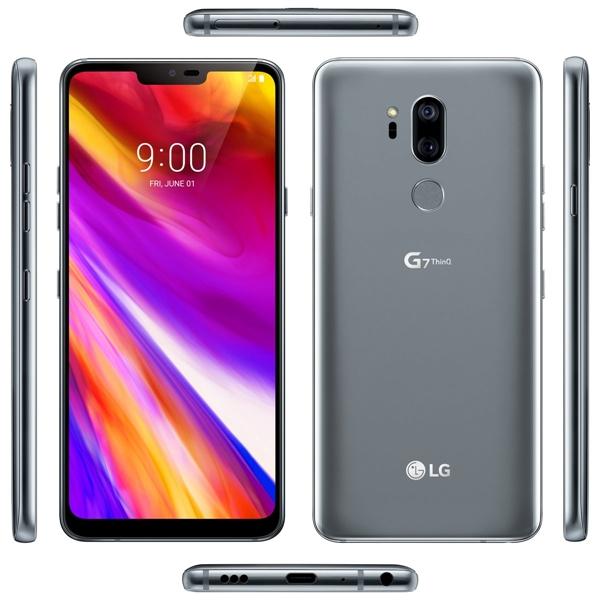 下周发!LG G7 360°高清外形曝光:骁龙845刘海屏