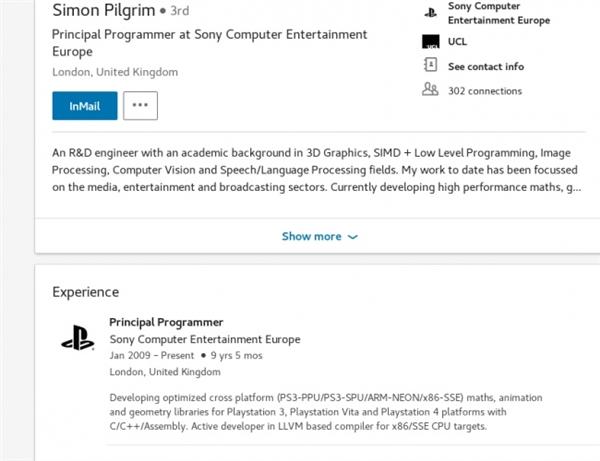 密谋PS5?索尼主机团队正基于AMD Zen处理器做开发
