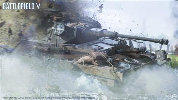 《战地5》宣布10月19日上市:回归二战、新增64人模式