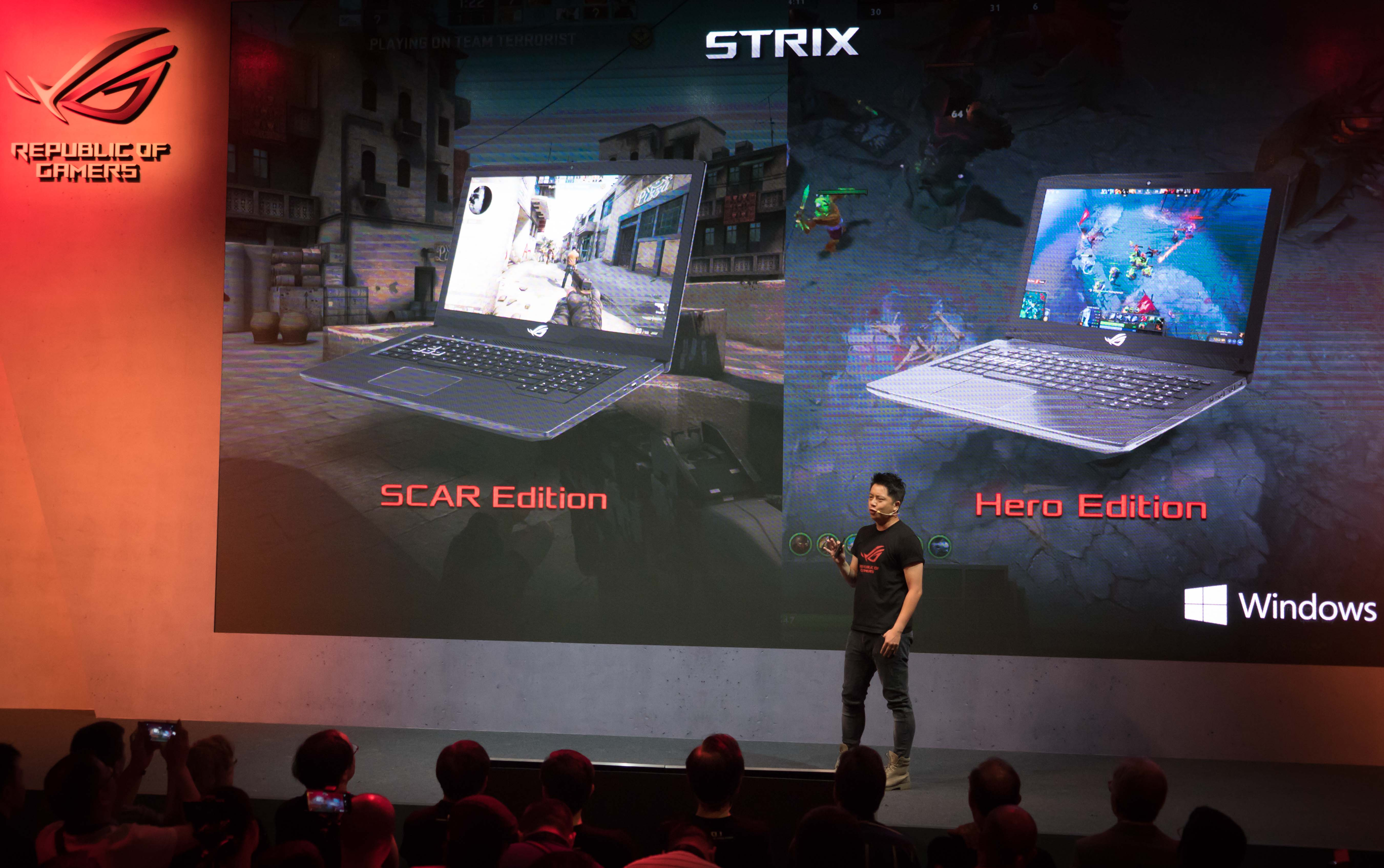 x299主板和超薄1080游戏本的盛宴 rog新品发布会图片