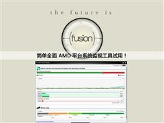 简单全面 AMD平台系统监视工具试用!