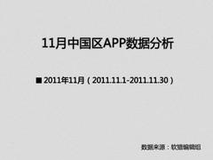 苹果应用趋向高品质 11月APP数据分析