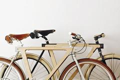 绝对高贵冷艳!WOOD.b木制框架自行车