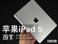 苹果iPad5高清图赏 外观酷似iPad mini