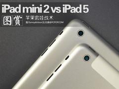 苹果套娃战术 iPad mini 2对比iPad 5