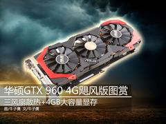三风扇大显存 华硕4GB版GTX960飓风图赏