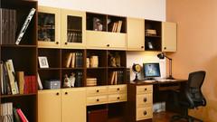 小户型如何挤出一间书房?