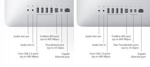 苹果iMac新规格曝光:新四核+新TB接口