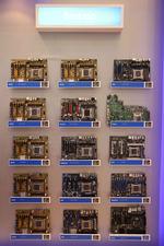 台北电脑展首日 Intel晒芯片X79主板