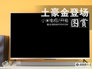 土豪金版闪亮登场 小米电视2开箱图赏