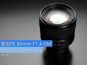 顶级素质定焦头 索尼FE 85mm F1.4GM图赏