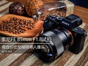 高性价比人像头 索尼FE 85mm F1.8试拍