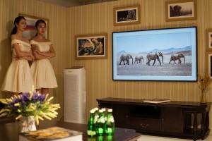 是电视更是艺术品 三星画・壁艺术电视图赏
