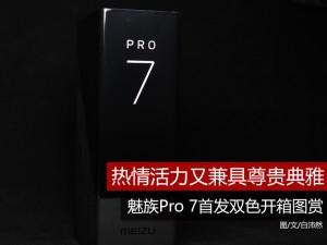 热情活力又兼具尊贵典雅 魅族Pro 7首发双色开箱图赏