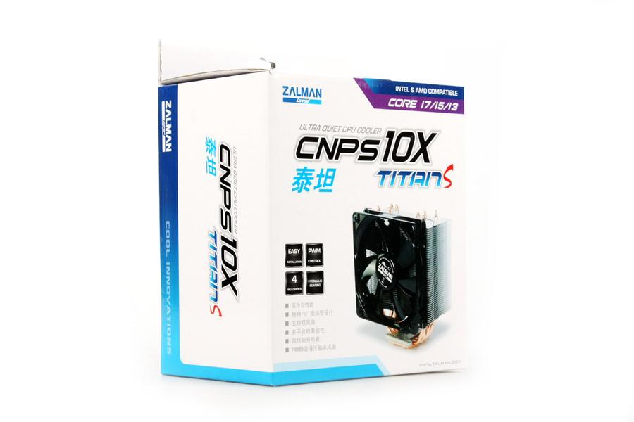 实拍图赏:思民新散热器CNPS10X泰坦