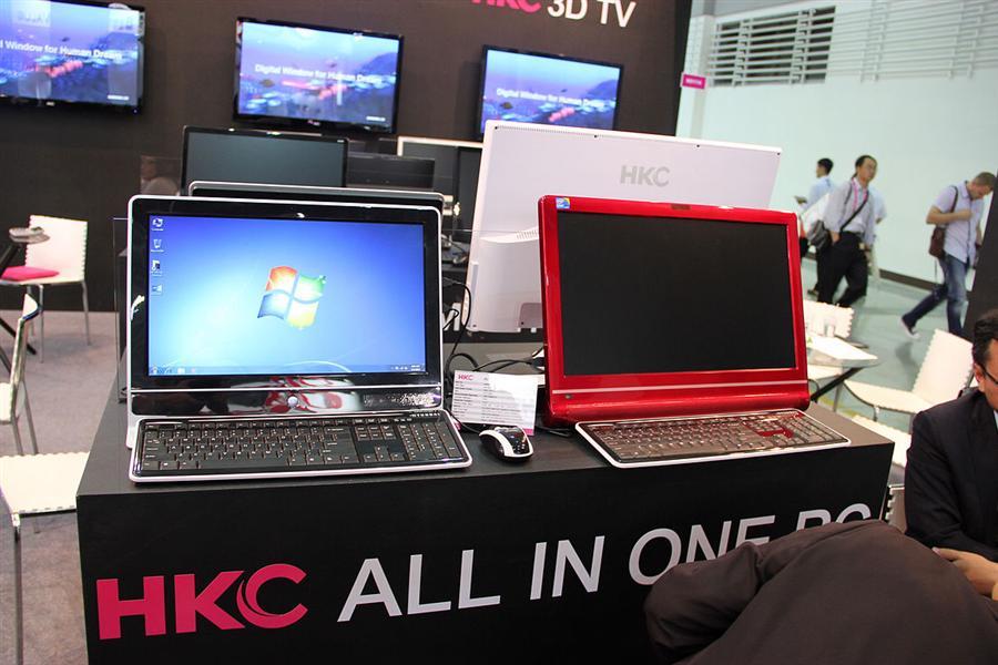 使用NVIDIA方案 HKC亮相首款3D显示器