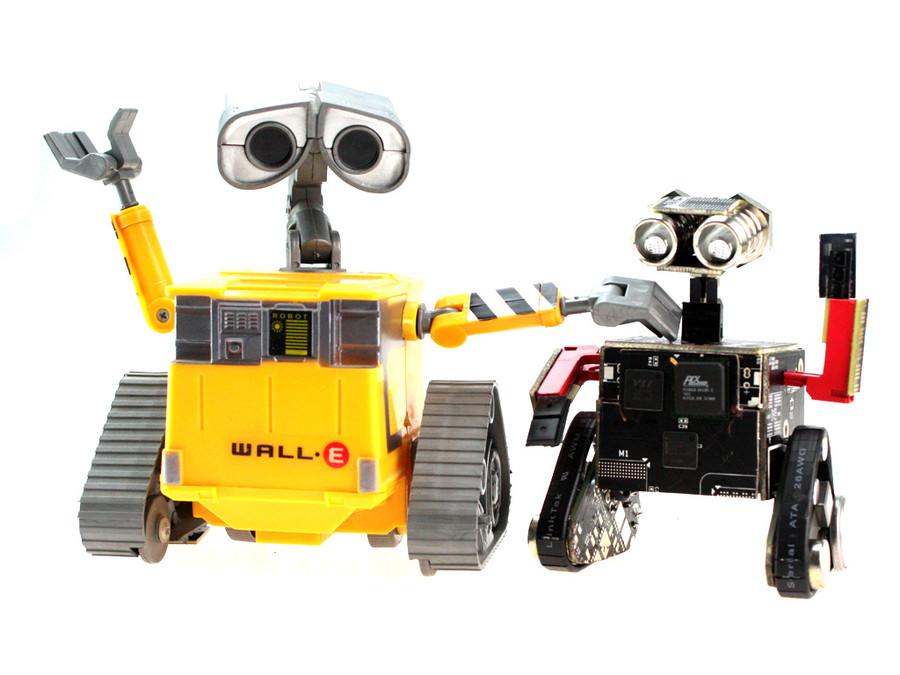 正方体长方体手工制作机器人