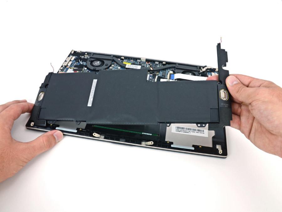 图中产品:华硕(asus) ux32ki3317vd 35/48 在触控板背面的控制器.
