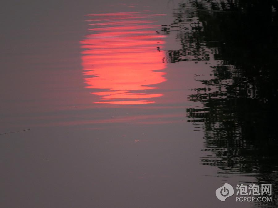 日出水纹矢量图
