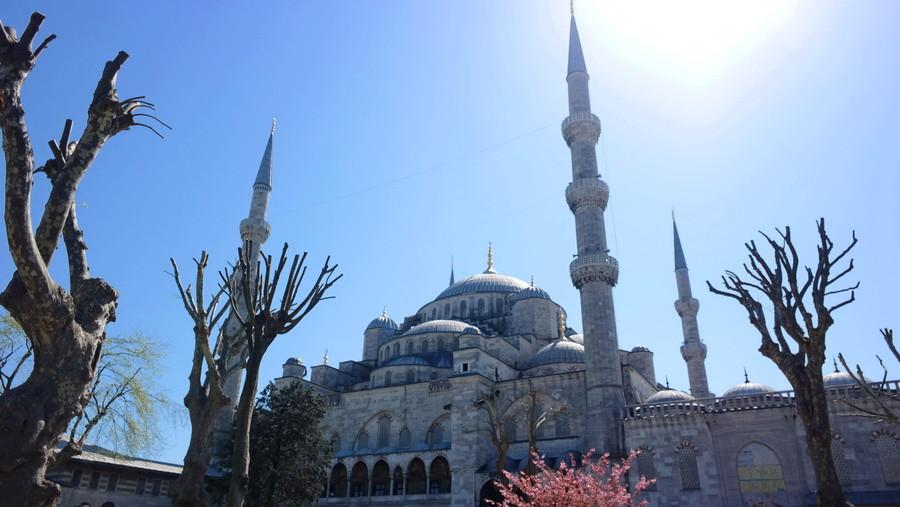 土耳其风情 三星NX300蓝色清真寺之旅