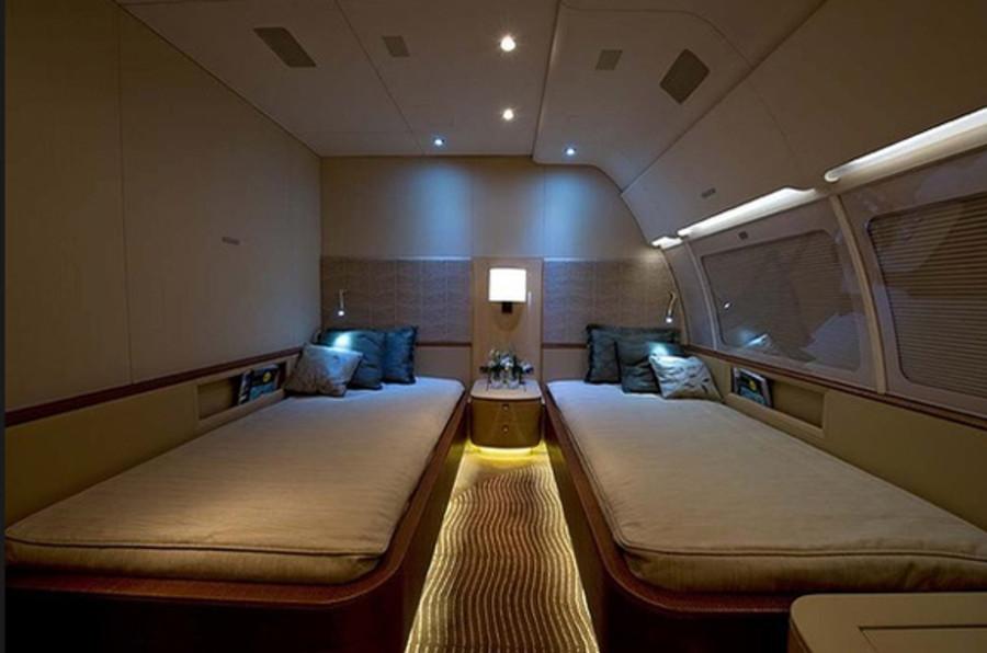 享受飞行生活 奢华私人飞机内部设计