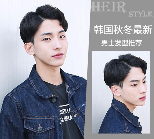 三七分的刘海,利落层次的短发剪裁,以及自然的发色突出模特干净立体