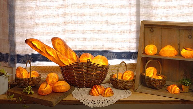 设计师跨界玩弄起面包,还有模有样萌萌哒!