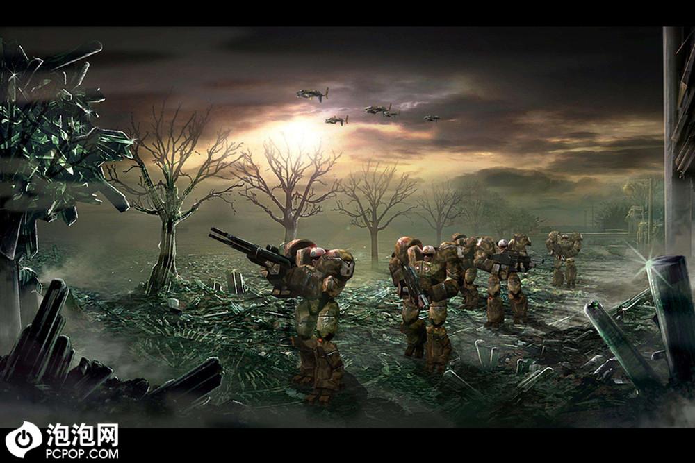 《命令与征服3;泰伯利亚战争》中,病毒矿物的源头,来自外星的思金人