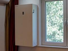 云景家用壁挂新风C300T试用测评