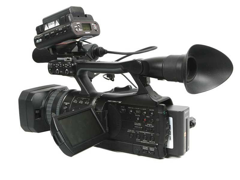 索尼HVR V1C图片8