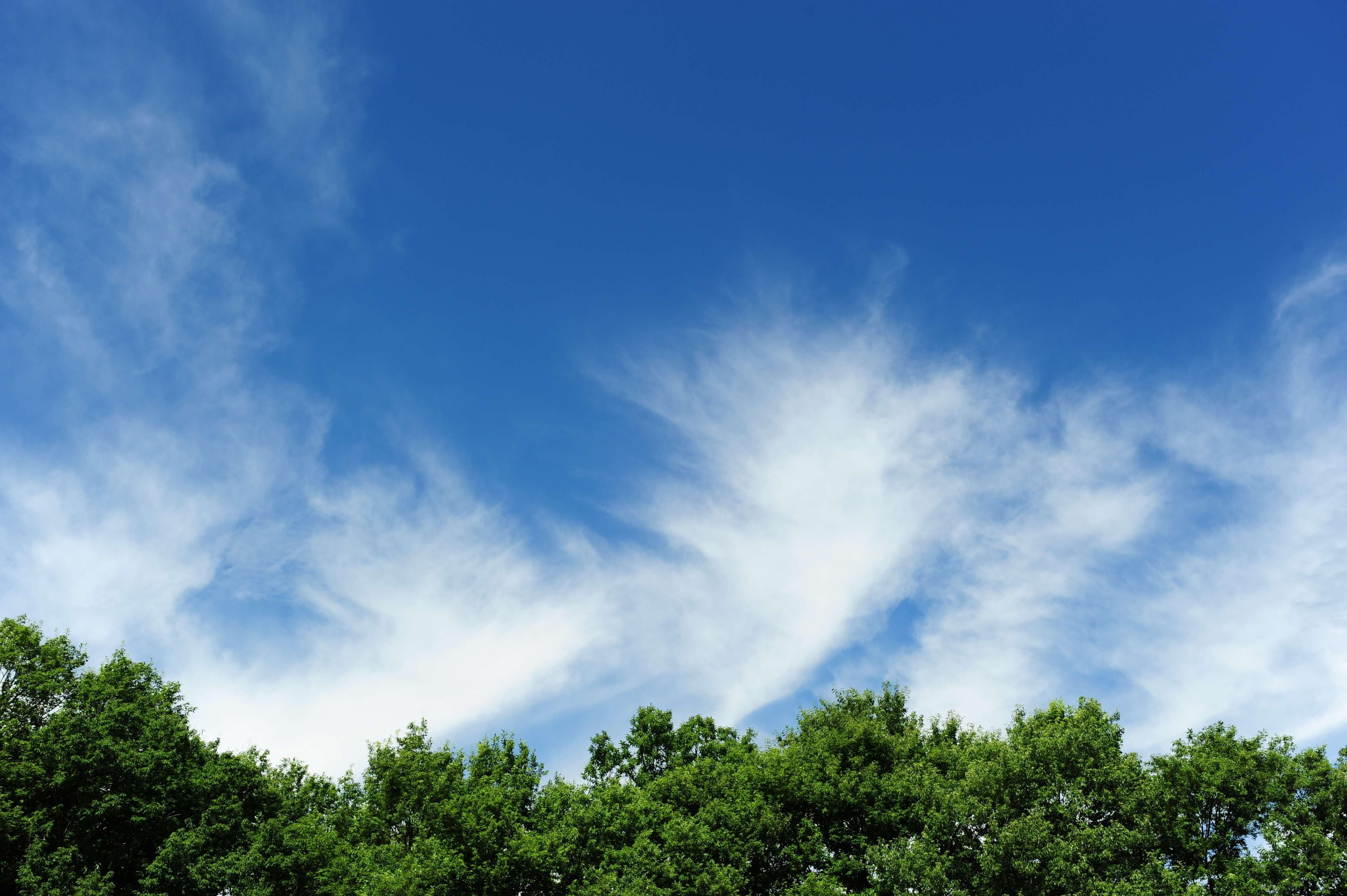 天空 高清 素材 单反