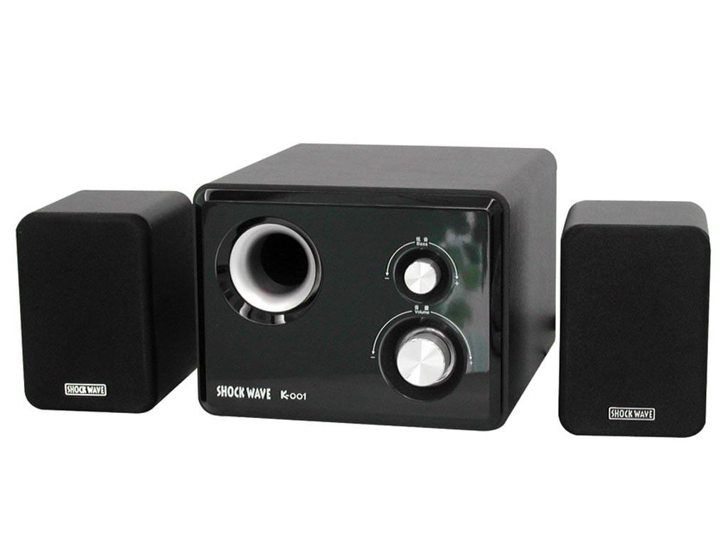 这款音箱内置了4英寸低音单元,输出功率28W,声音偏向于中...