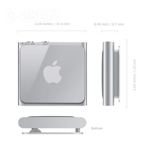 简约绝妙混合!iPod shuffle 4代拆机
