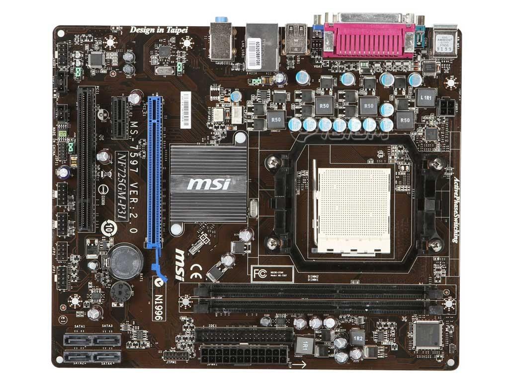 微星nf725gm-p31主板原图 高清图片 nf725gm-p31图片