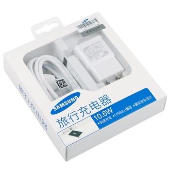 三星Note3 旅行充电器 白色图片3