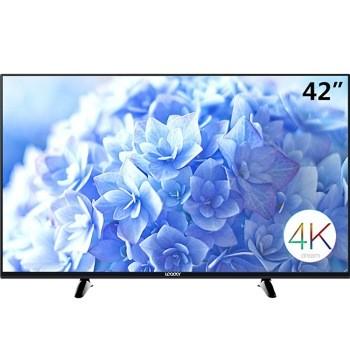 42英寸安卓智能6核网络4k超薄窄边框uhd超高清led液晶电视图片1