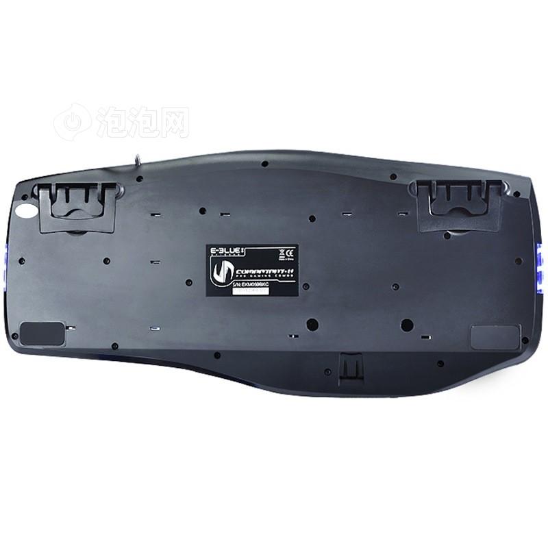 宜博ekm066bkc 眼镜蛇有线游戏键盘 黑色图片5