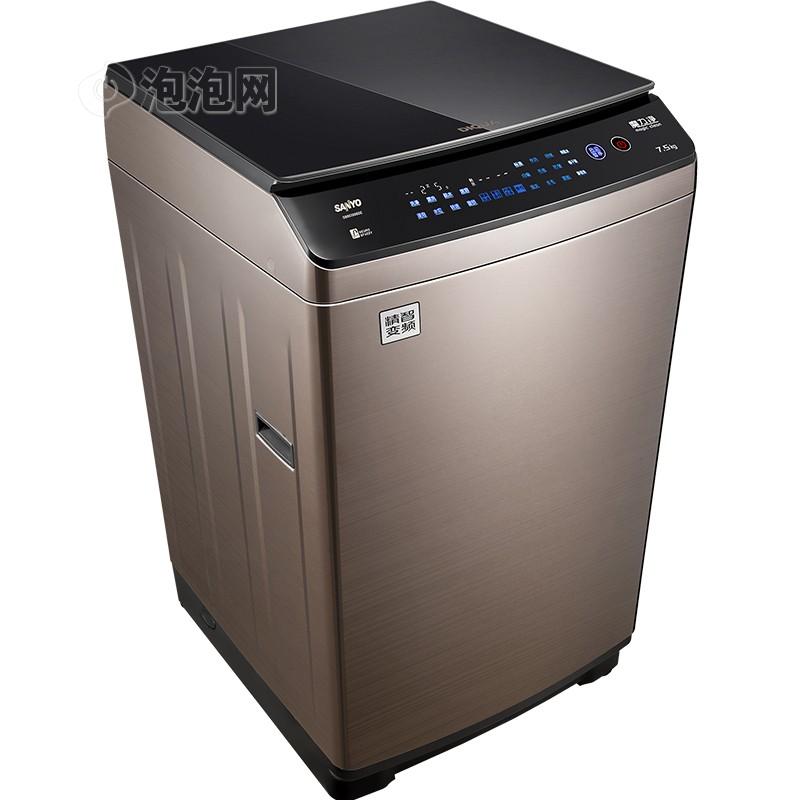 三洋db75399ba 7.5公斤大容量自动投放波轮洗衣机(钛金灰)图片3