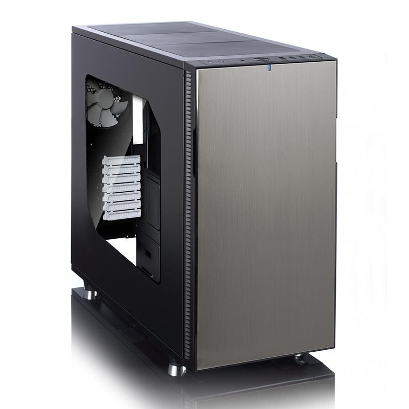 > 佛瑞克托设计define r5 冰岩灰 侧透 静音机箱(标配fd全新设计风扇