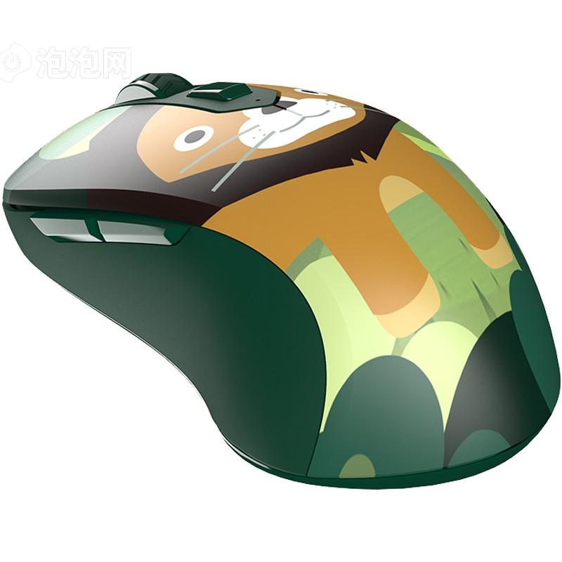 > 达尔优lm115g 无线光学游戏办公鼠标 攻城狮原图