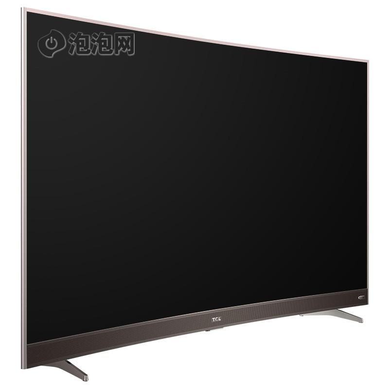 65英寸 曲面4k智能平板电视 hdr显示技术 超窄金属边框(玫瑰金)大图
