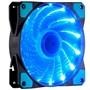 至睿 旋驰H120D (炫酷15组LED灯+22dB极静音+强劲风量+扇框防震) (机箱风扇)(蓝灯)图片