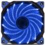 鑫谷 极风蓝灯风扇(12cm静音机箱风扇/15颗高亮灯珠/减震胶垫)图片