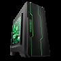 大水牛 潘多拉 黑色 MINI机箱(支持ATX主板/支持双水冷排/七彩呼吸灯/多硬盘支持/U3)图片