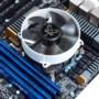 大镰刀S950N CPU散热器(支持115X平台/下压式散热器/62mm高度/铜芯/ITX 散热器)图片